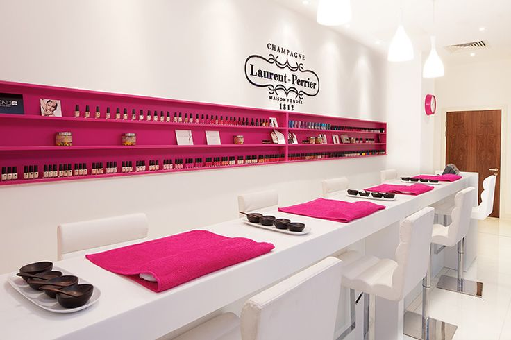 Laurent perrier nail bar nail polish pinterest for 24 nail salon nyc