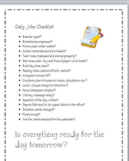 Classroom Freebies Too: First 30 Days...afterschool routines