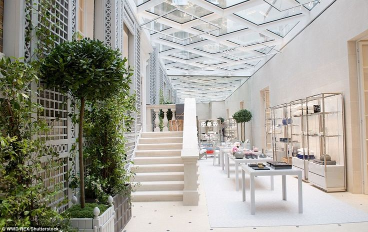Light and shade: A new conservatory has been added to the historic New Bond Street properties