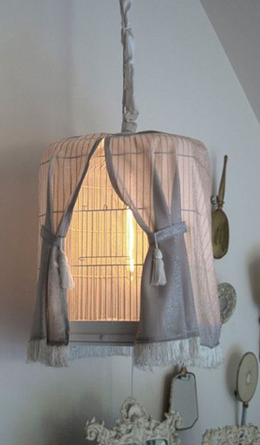 BOISERIE & C.: Lampadario in stile Shabby Chic