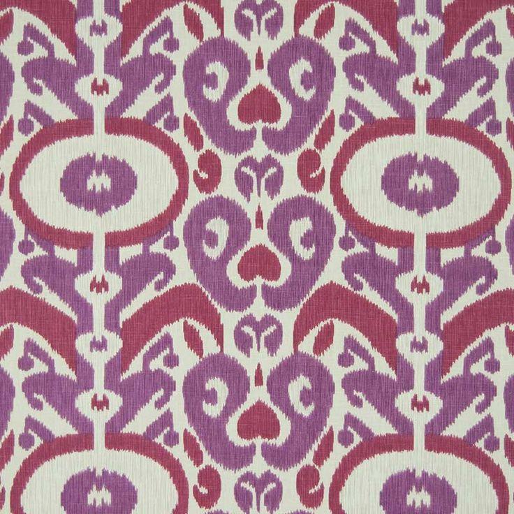 Warwick Fabrics : PINTONA, Colour BUBBLEGUM