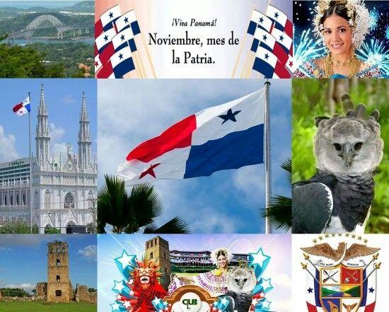 Noviembre mes de la patria panama pinterest for Diario mural fiestas patrias chile