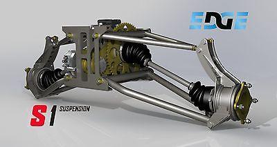 S1 Bicicleta de planes de suspensión trasera con tecnología Mini duna Buggy, sandrail en disco CD.