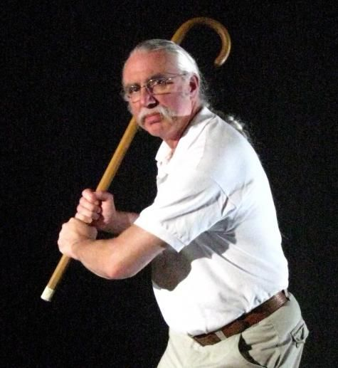 Funny Old Man with Cane - Exactly What is the Most ...