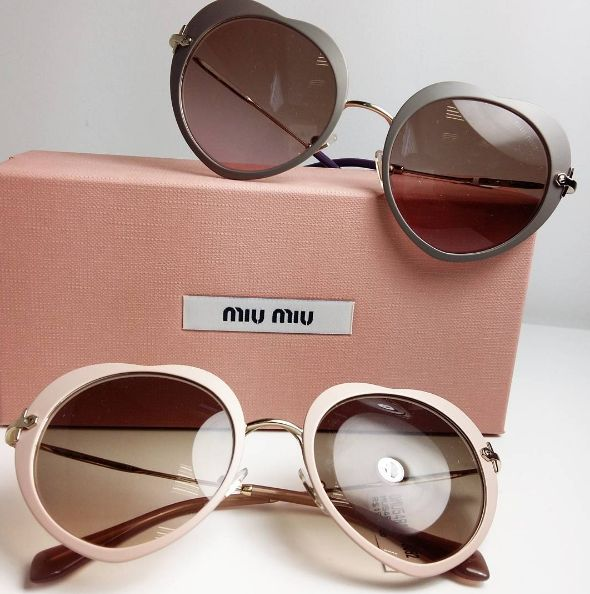 Miu Miu Sunglasses Heart