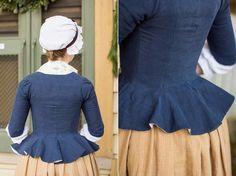 Mode de Lis: Working Class Attire · 1770s Style