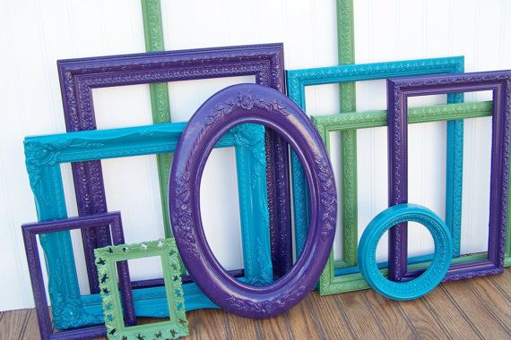 This would have been a cool idea for the big wall. Perhaps I could still do it (but with more modern-looking frames)?