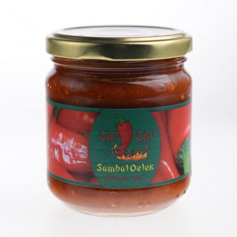 Oelek sambal este un sos specific asiatic făcut din ardei iute și aromat cu otet si un pic de sare. Sosul este folosit ca un sos de gatit, mai degrabadecat un condiment.