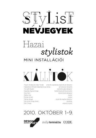 stylist poster by anna farkas