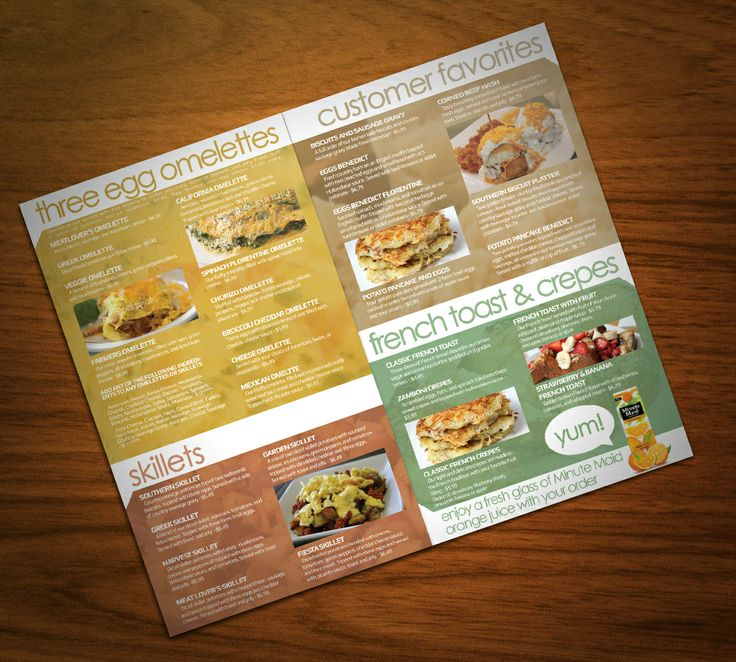 113 best Menu Design images on Pinterest | Restaurant, Cafe menu ...
