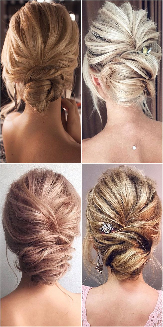 60 Best Wedding Hairstyles From Tonyastylist For The Modern Bride Medium Hair Styles Medium Length Updo Hair Styles