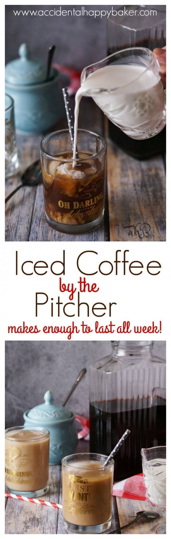 Get the recipe Iced Coffee by the Pitcher @recipes_to_go