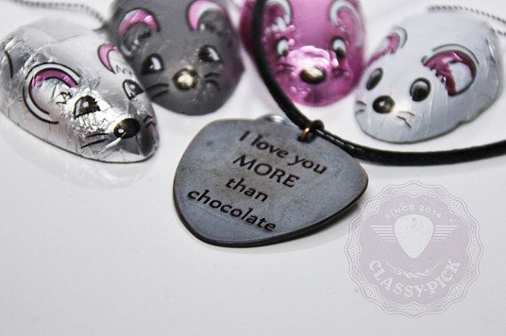 I love you MORE than chocolate   funny quotes by AmulettaHu