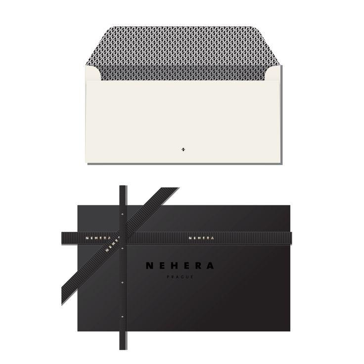 NEHERA PRAGUE / identity / packaging / ribbon / envelope