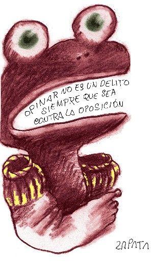 Caricatura de Zapata en la página de Opinión. Caracas, 19-01-1980. (PEDRO LEON ZAPATA / EL NACIONAL). Publicada: 12-04-2010. Nación 6