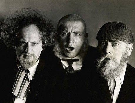 The Three Stooges, featuring the silly side of the middle stooge, Larry Fine-slide0