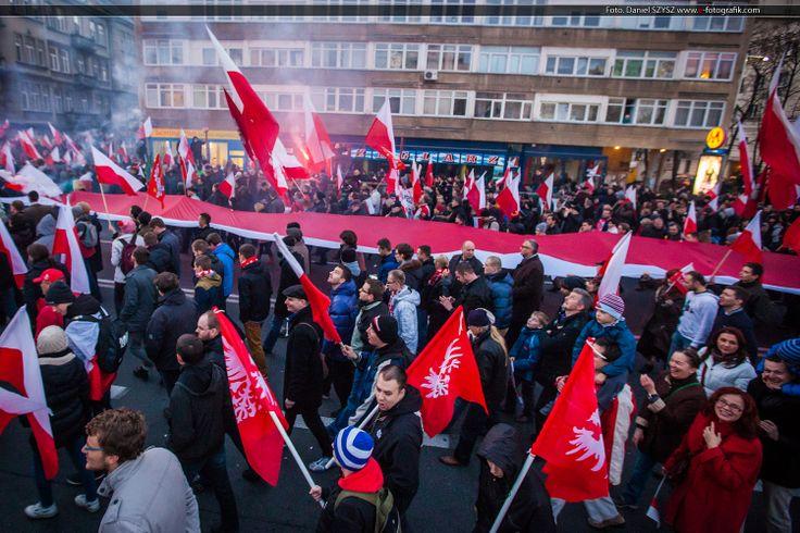 Marsz Niepodległości 2013 w Warszawie #11listopada #warszawa