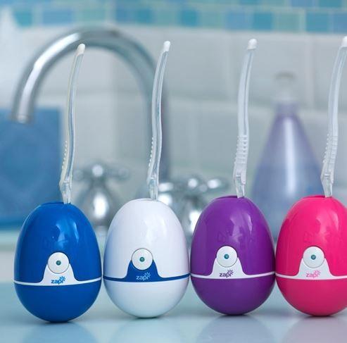 Violight Zapi UV Toothbrush Sanitizer.