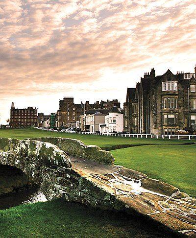 Swilken Bridge, Old Course - St. Andrews, Scotland.
