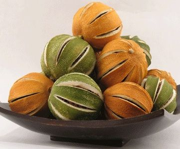 fragrant dried oranges, I want to try it with lemons and limes