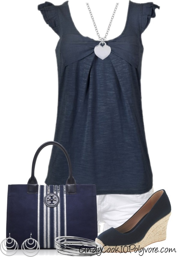"""""""Lovin a Wedge Shoe"""" by cindycook10 on Polyvore"""