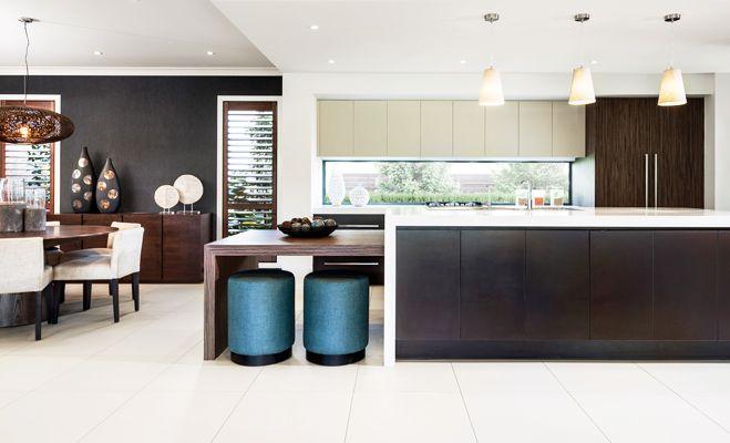 #kitchen by Rawson Homes #decor #interior #island bench #renovation