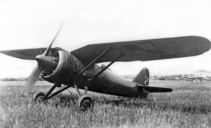 In 1939 Polish fighters, such as this PZL P7a, shot down 126 German aircraft.