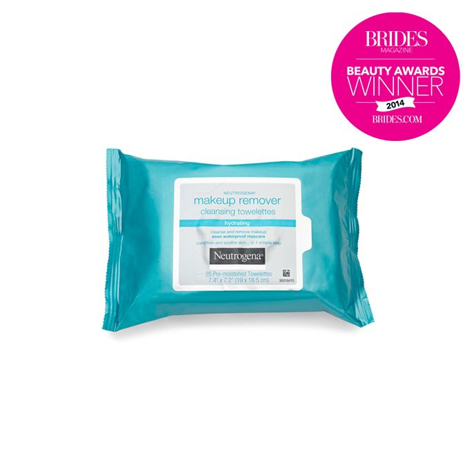 "Brides.com: . Best Makeup Remover Wipes for Your Honeymoon: Neutrogena. Huge props to a single packable wipe that whisks away all that paint and powder without drying out your skin. ""They smell great and left my face feeling dewy,"" says our tester. ""Total keeper."" Buy these make-up removing towelettes on Amazon! Makeup Remover Cleansing Towelettes-Hydrating, $6.99, Neutrogena"