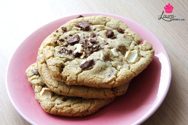 cookies moelleux americains