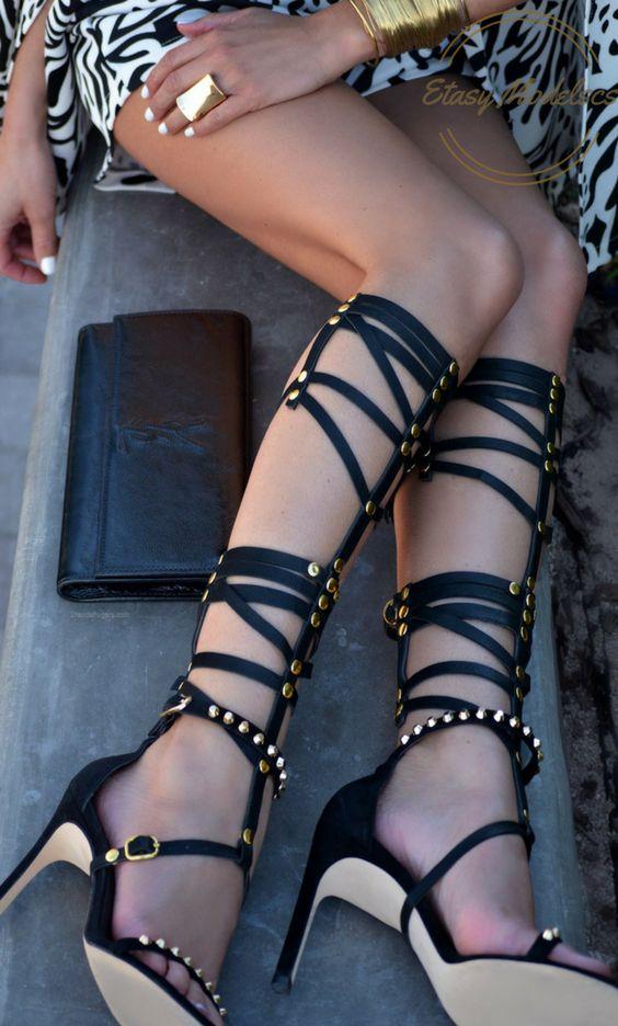 Gladiator Sandals By Stuart Weitzman