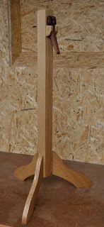 Notenständer aus Eiche und Mahagoni, höhenverstellbar, Holzprojekt