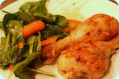 Orange Balsamic Chicken Legs | Yum! | Pinterest