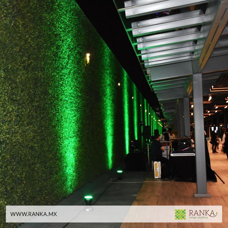 15 mejores im genes de muros verdes artificiales en for Plantas decorativas artificiales df
