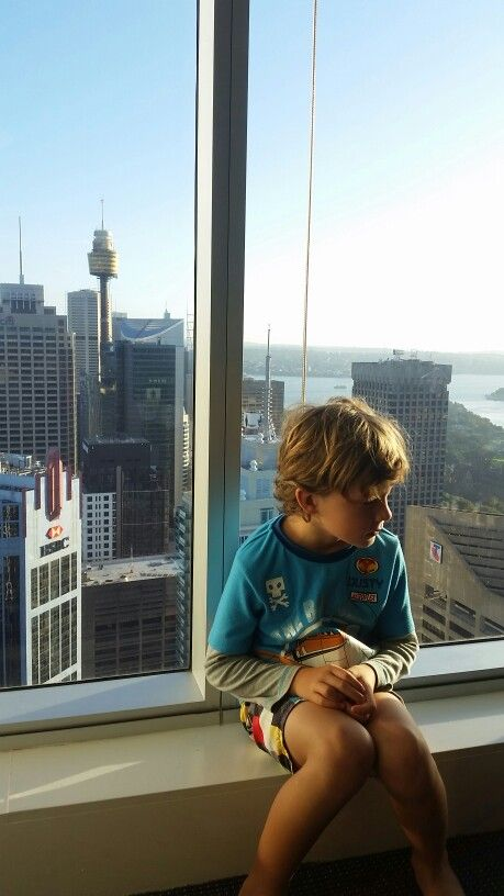 Brodie at Merriton Sydney  enjoying the loungeroom view whilst watching cartoons