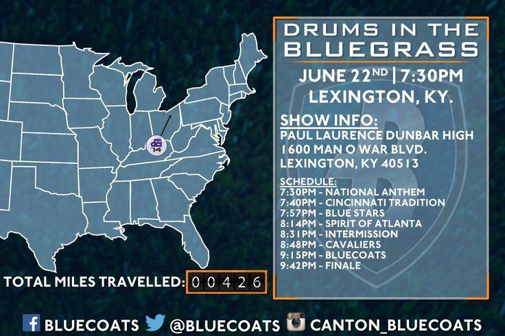 Bluecoats 2014 Tour - Lexington, KY