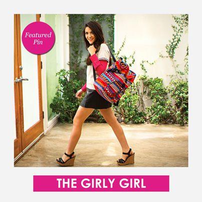 Are you The Girly Girl this year? Featured Pin! #KiplingSweeps #KiplingSweeps