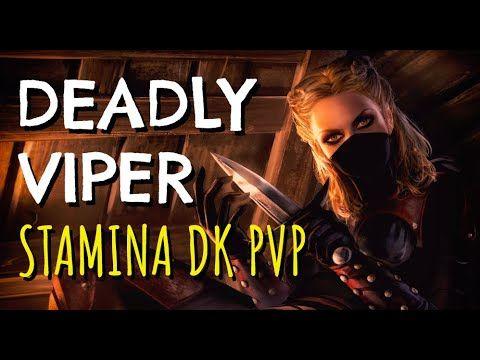 Stamina Dragonknight PVP Build - DEADLY VIPER - ESO