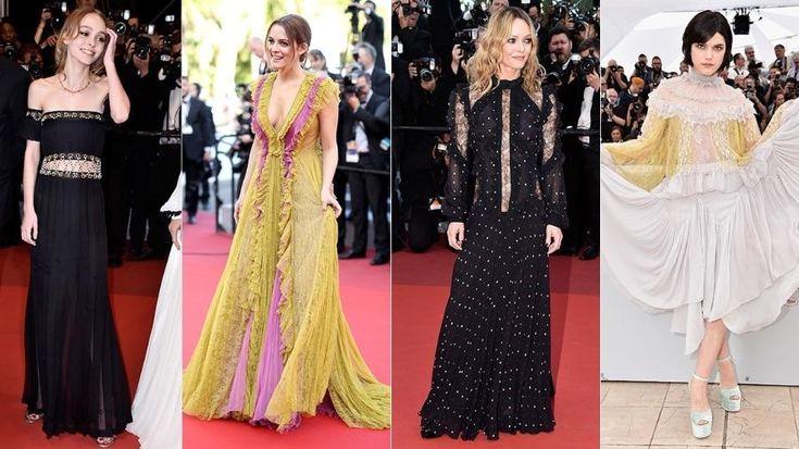 Vestidos vitorianos roubam o lugar dos transparentes em festas de Cannes - 17/05/2016 - UOL Estilo de vida