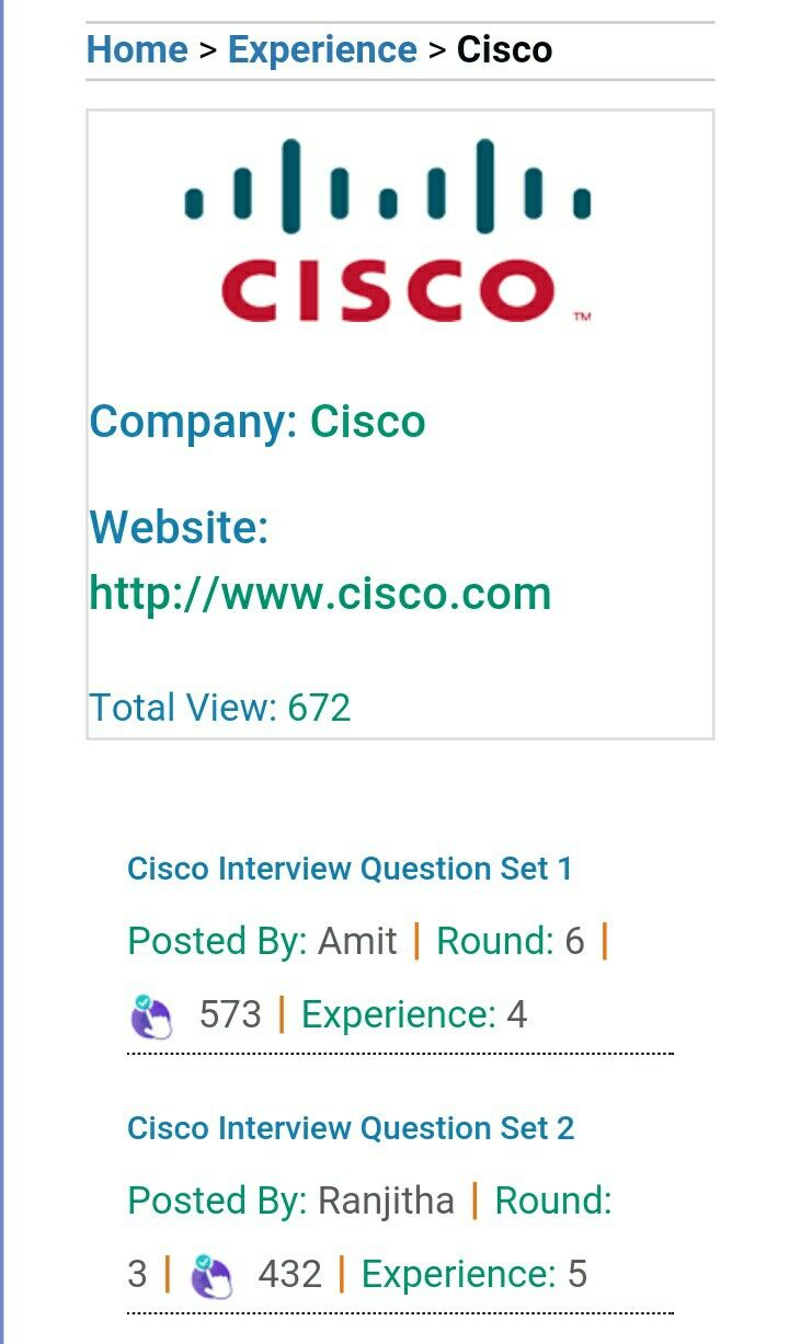 cisco frequently asked interview questions check before appearing for cisco - Frequently Asked Interview Questions And Answers