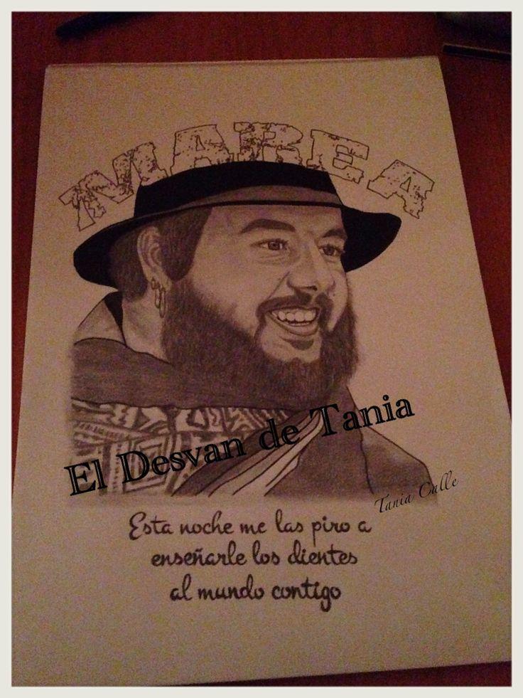 Retrato a lápiz kutxi marea! @eldesvandetania