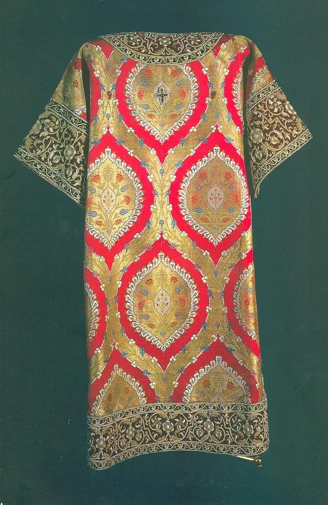 Byzantine Fabric   An Icon of the Kingdom of God: The Integrated Expression of all the ...