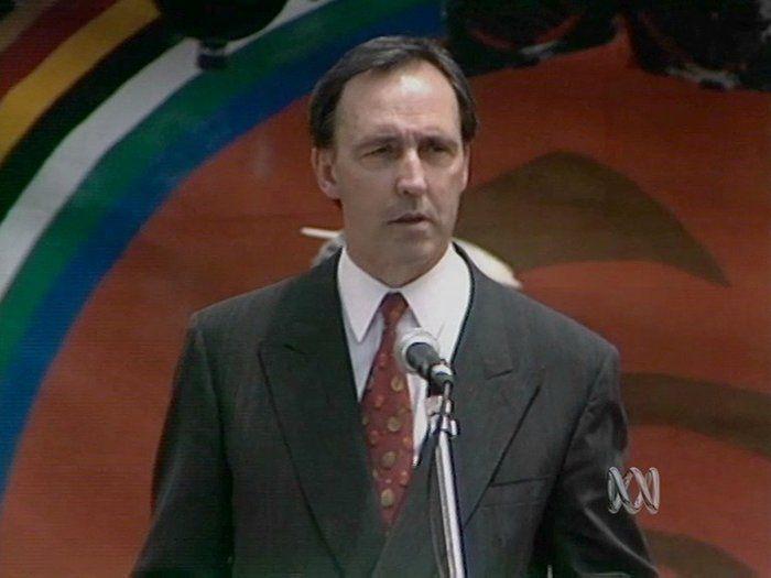 Prime Minister Keating's Redfern address, 1992 - History (10)