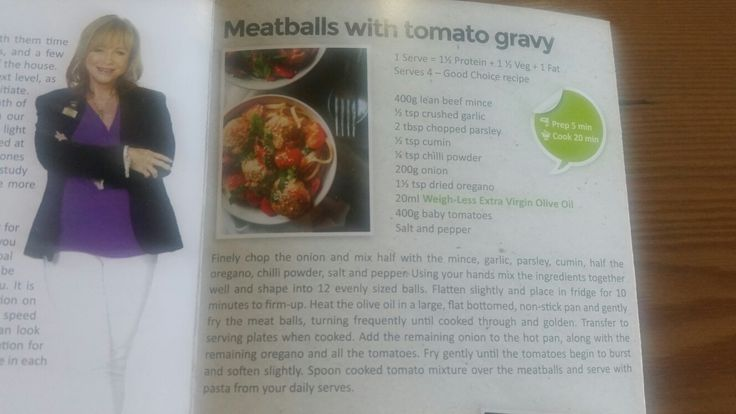 Meatballs with tomato gravy - change beef mince to ostrich mince and add mushrooms in sauce for extra veg.