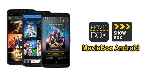 Download Movie Box for Android Smart Phones & Tabs