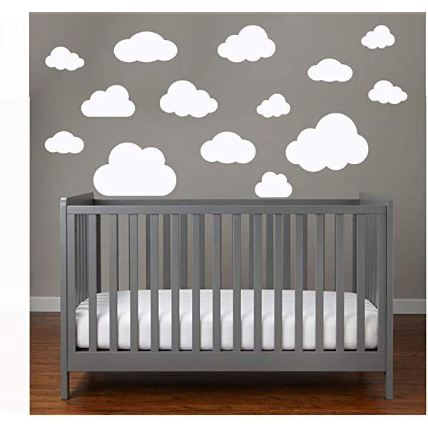 20 Teile Wolken Wandtattoo Kinderzimmer Set Rauhfaser Wandsticker Pastell Farben Baby Tapet In 2020 Baby Tapeten Wandtattoo Kinderzimmer Wandaufkleber Kinderzimmer