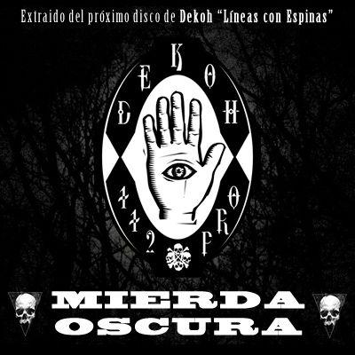 """""""Mierda oscura"""" es un nuevo tema inédito del sevillano Dekoh. Escúchalo aquí: http://www.hhgroups.com/noticias/dekoh-mierda-oscura-adelanto-5397/"""