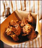 Buttermilk Fried Chicken. So good. All about the buttermilk!