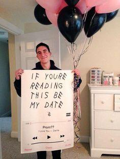 Drake prom proposal!                                                                                                                                                                                 More
