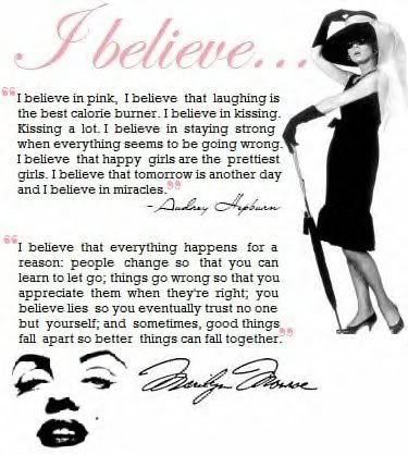 Strong WomenWise Women, Marilyn Monroe, Inspiration, Audrey Hepburn, Marilynmonroe, Audreyhepburn, Well Said, Favorite Quotes, Living