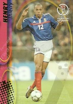 2002 Panini World Cup #62 Thierry Henry Front